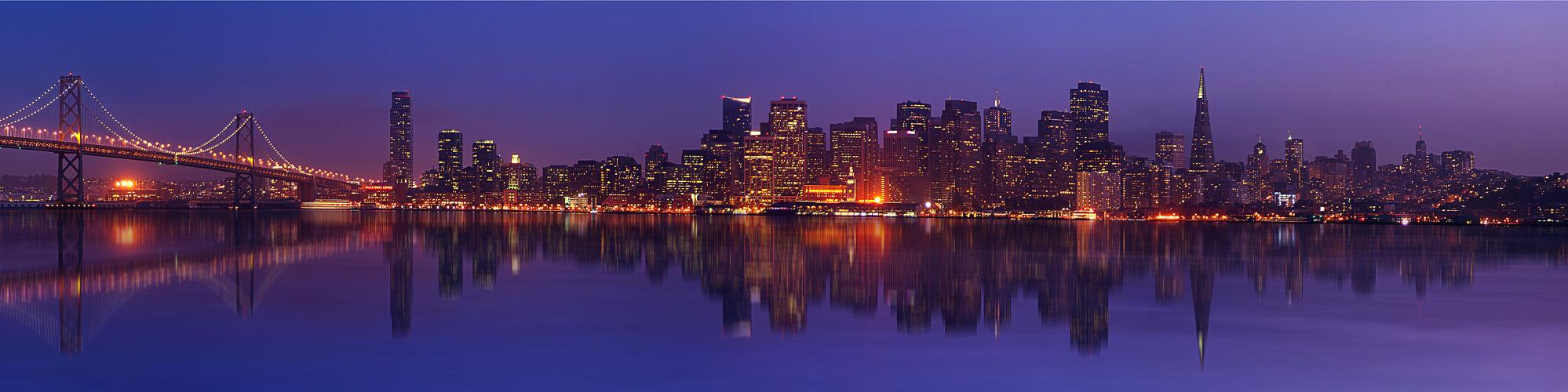 San Francisco Panorama Mirror