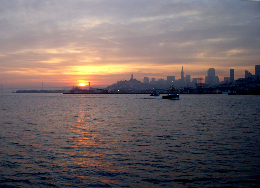 San Francisco Tagesanbruch