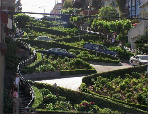 San Francisco,...Lombard Street