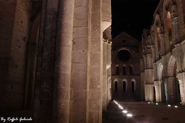 San Galgano By Night