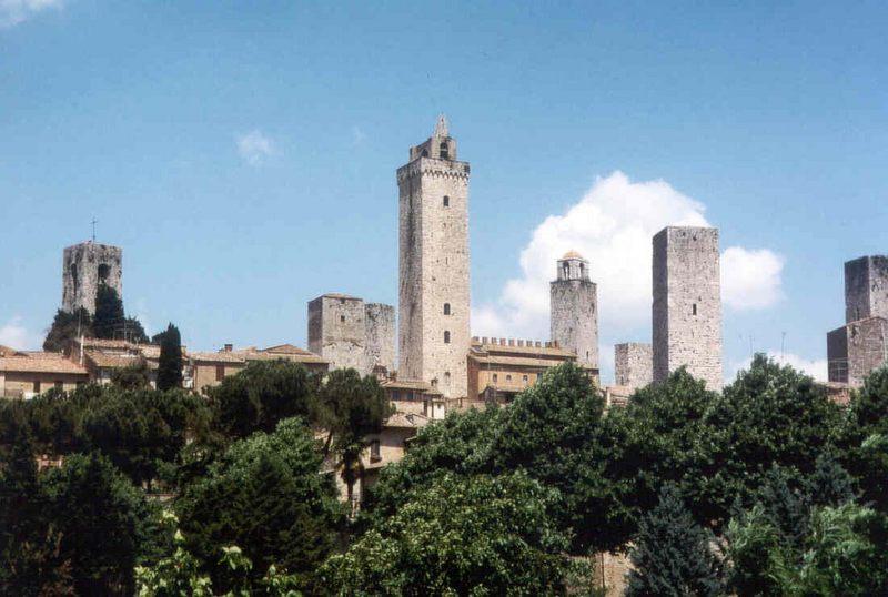 San Gimignano das Manhattan der Toskana