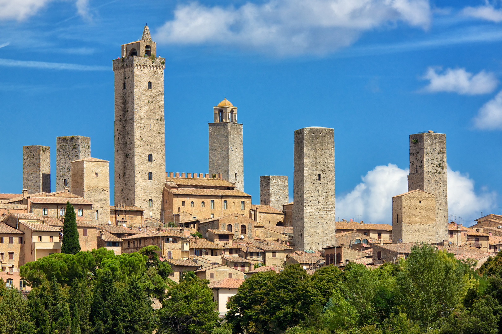 San Gimignano:: Stadtansicht