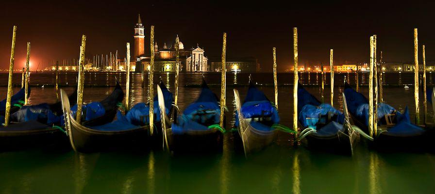 San Giorgio Maggiore um Mitternacht
