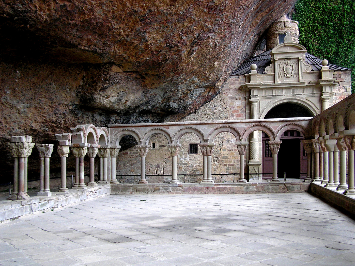 San Juan de la Peña, cerca de Jaca, Camino de Santiago, Huesca