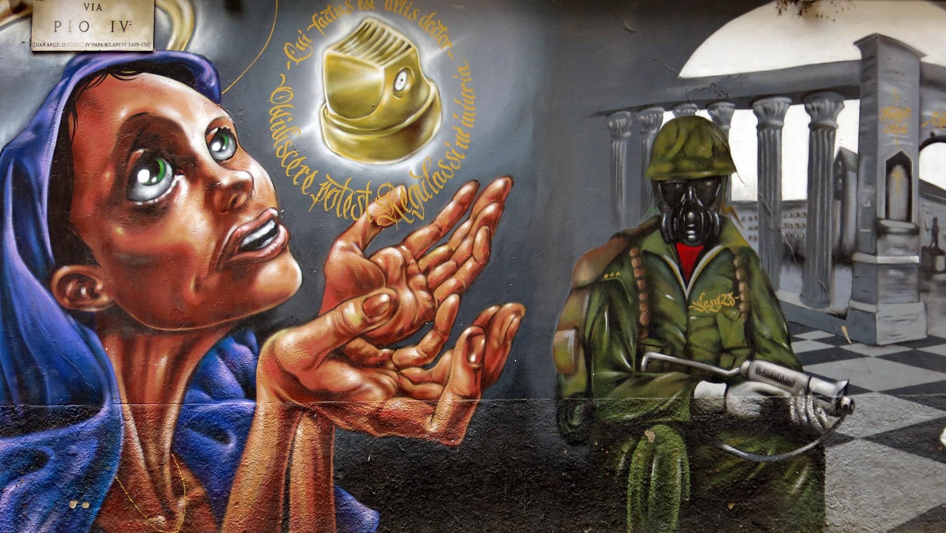San Lorenzo Street Art 3