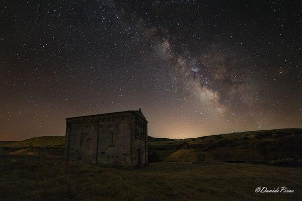 San Nicola Di Trullas by night