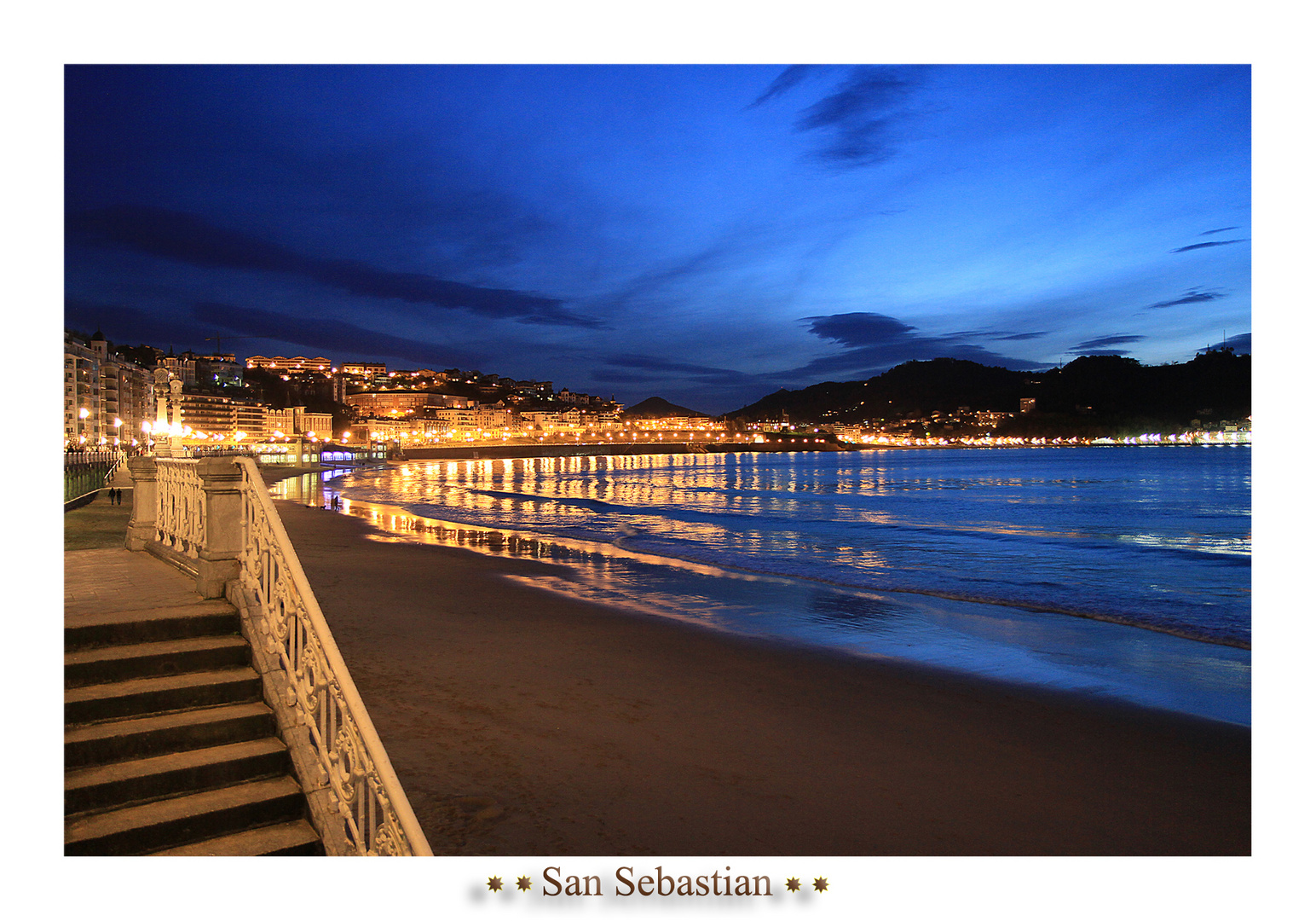 San Sebastian Blue