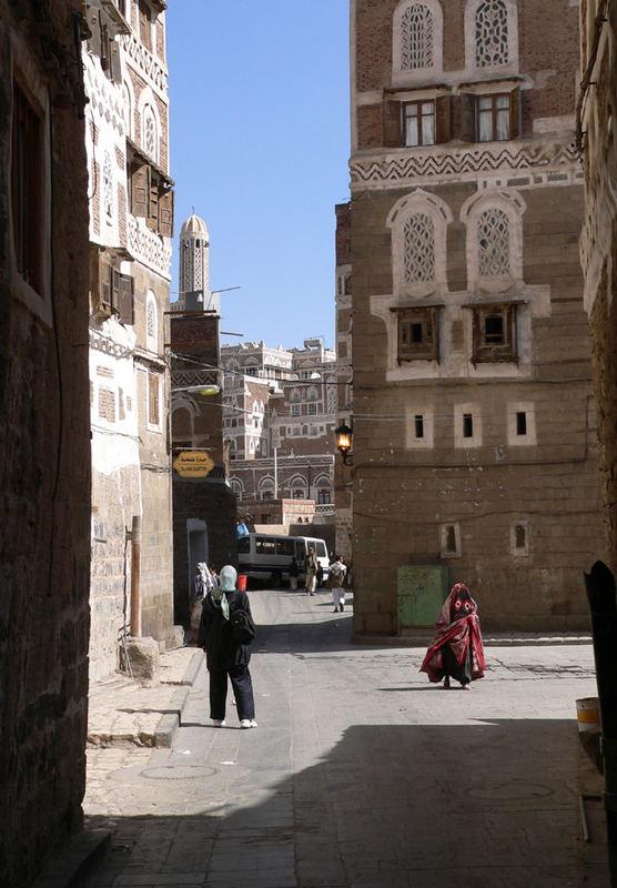 Sana'a bei Tag
