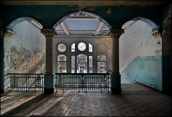 Sanatorium (2) - Das Treppenhaus