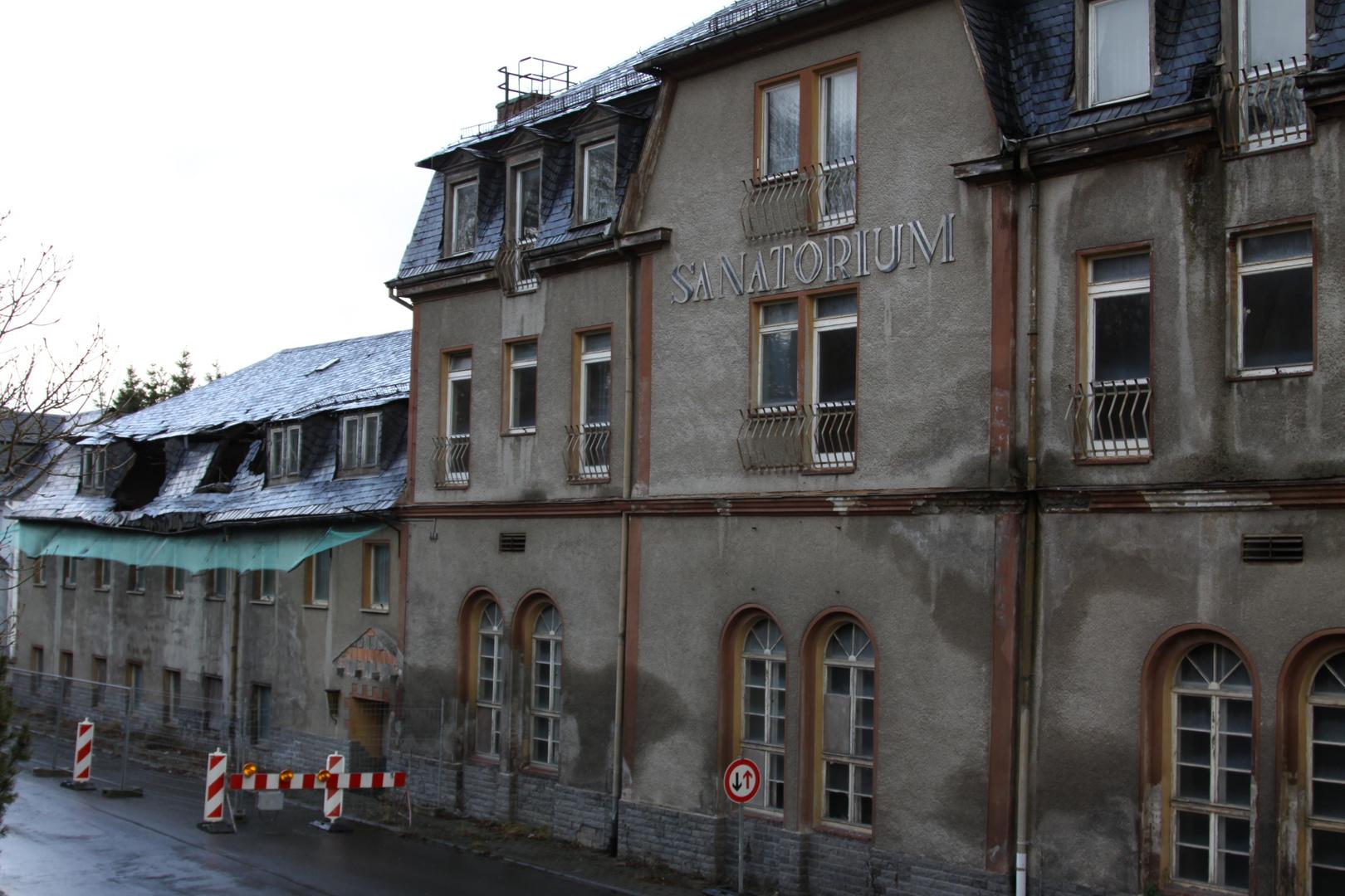 Sanatorium mit Reizklima