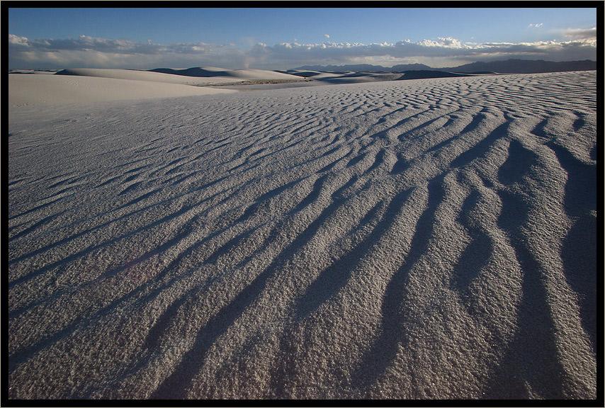 Sand...