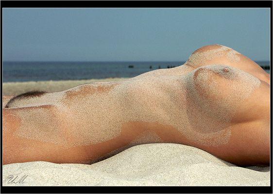 Sand auf der Haut....