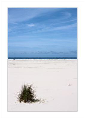 Sand, Meer und Himmel