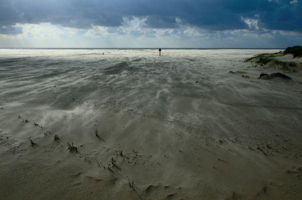 Sand und Wind