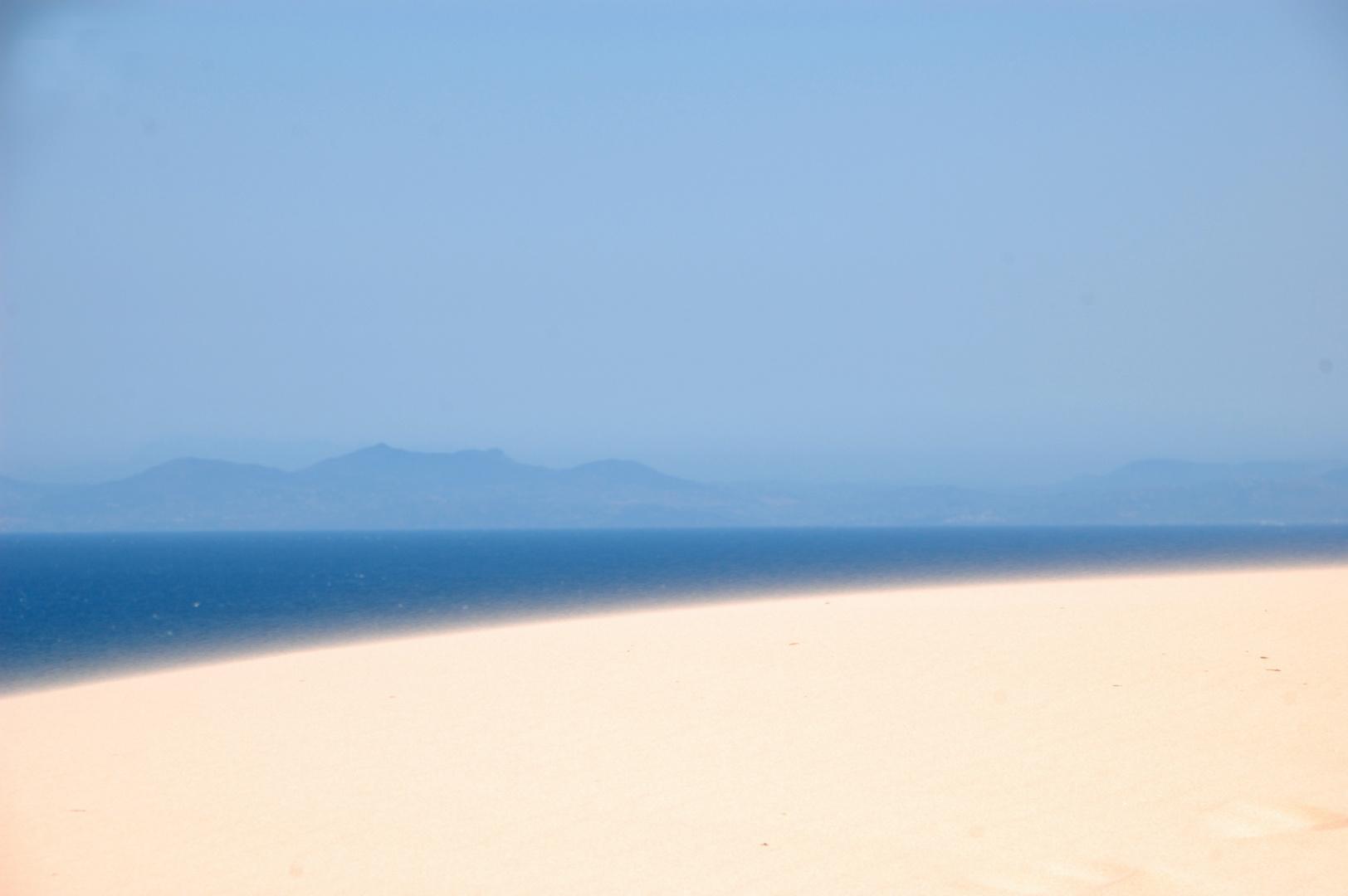 Sand, Wasser und ein anderer Kontinent