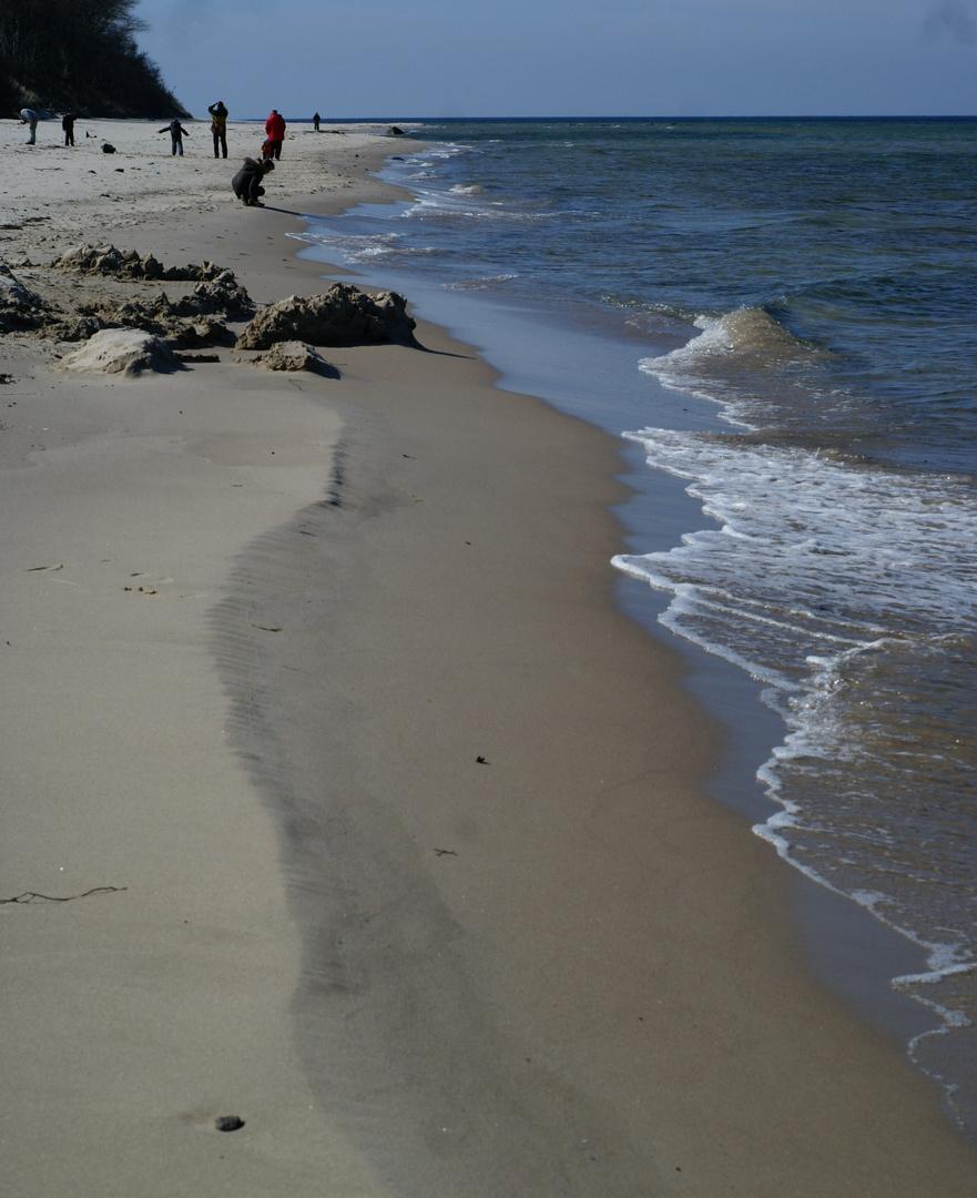 Sand + Wind + Wasser