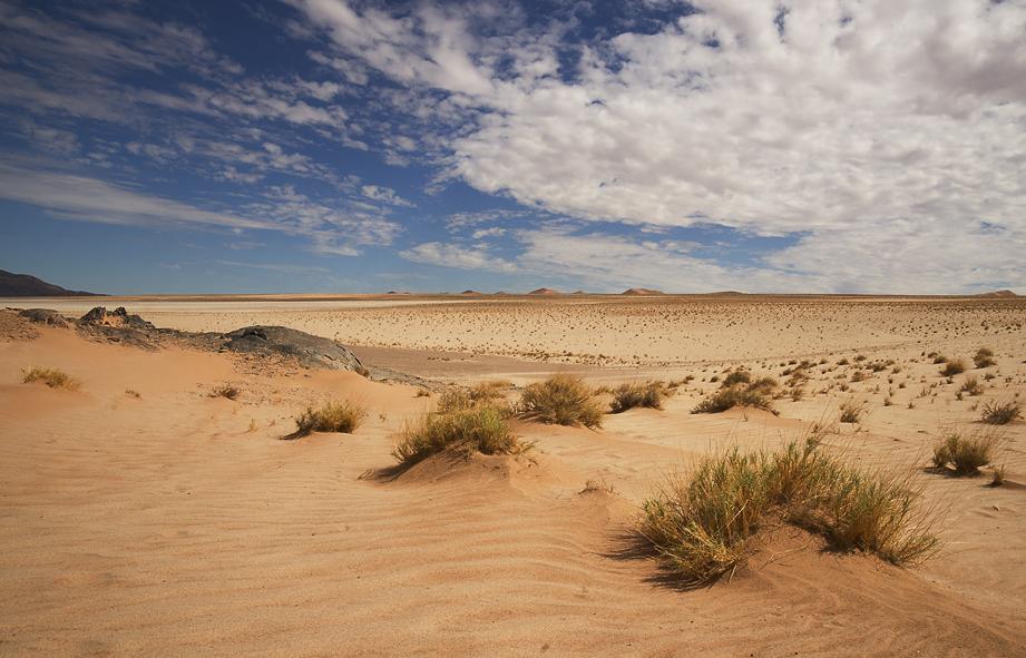 Sand Wolken Weite