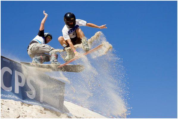 Sandboarding am Monte Kaolino