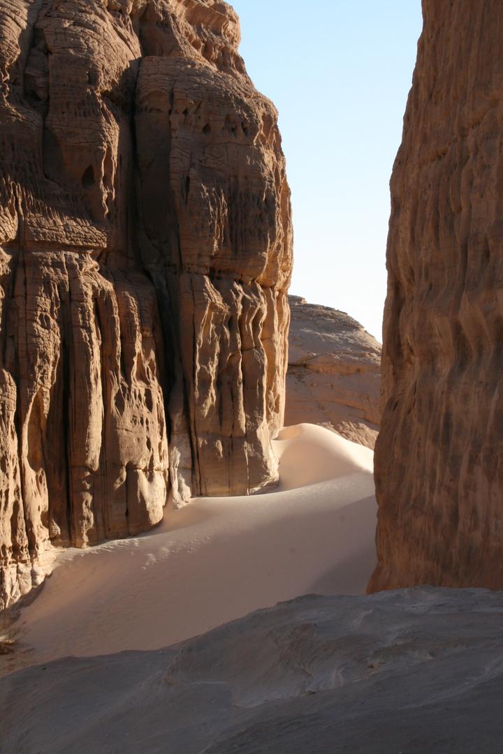 Sanddüne im Sinai