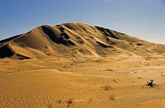 Sanddüne in der Rub-al-Khali im Oman