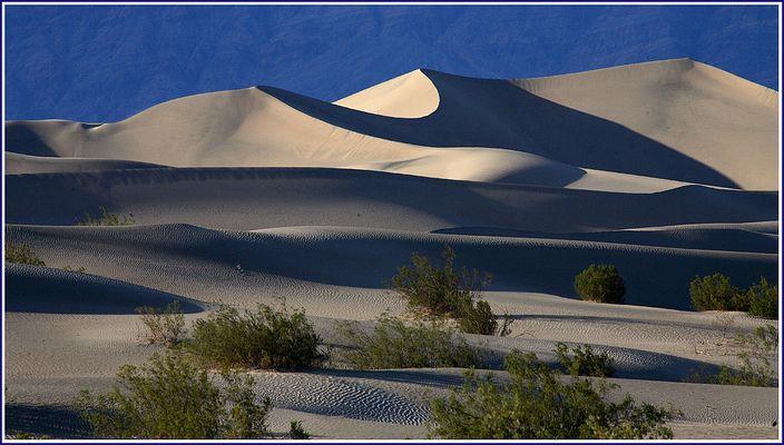 """Sanddünen in """"Death valley"""""""