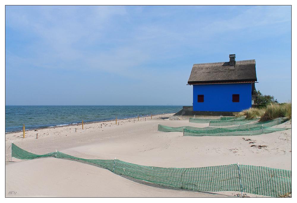 Sandfangzäune