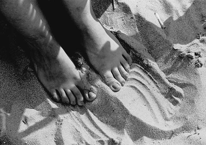 Sandfüße