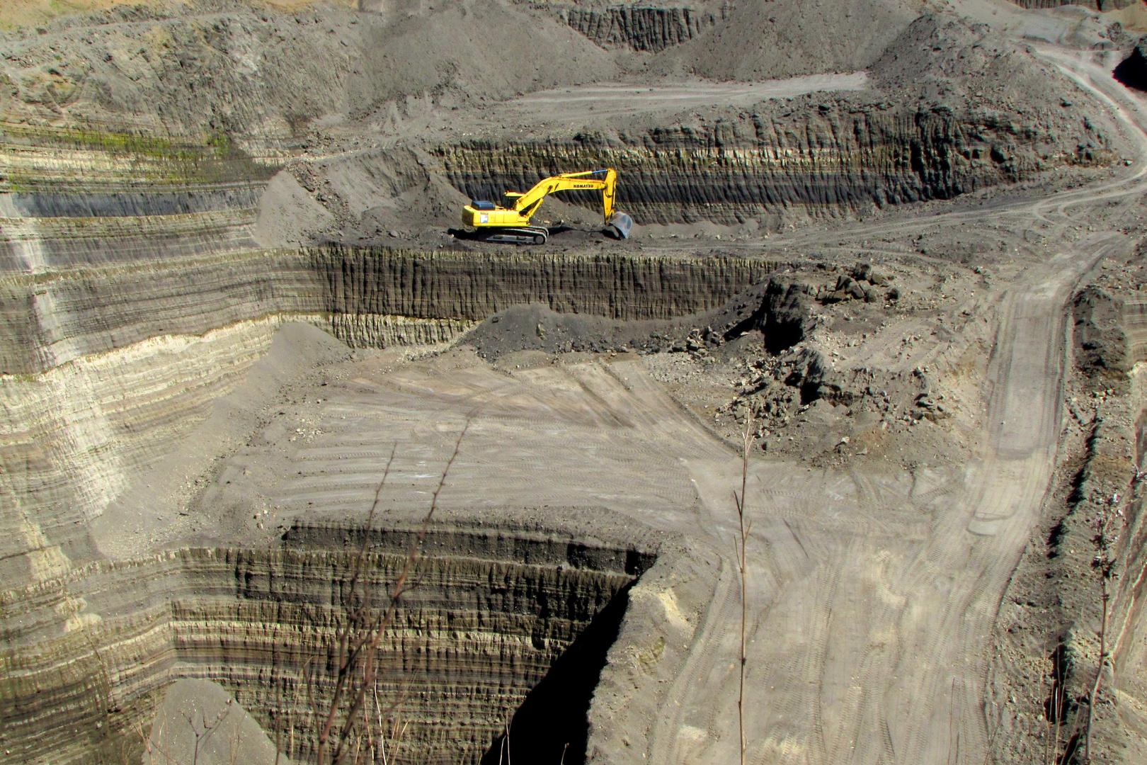 Sandgrube Groß in Engeln / Eifel