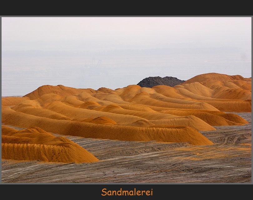 Sandmalerei