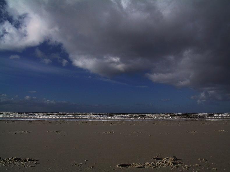 Sand....Nordsee....Himmel