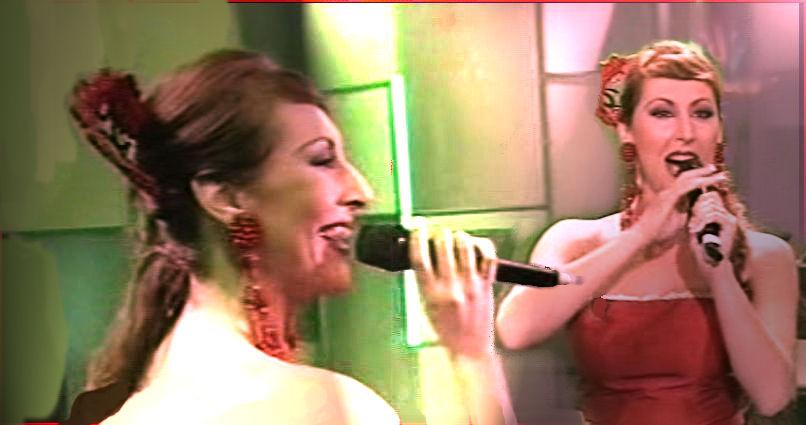 Sandra Cabrera,cantante española actual.