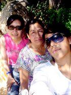 Sandra, Mom Comanche y Lú