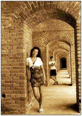 Sandra und der Fotograf