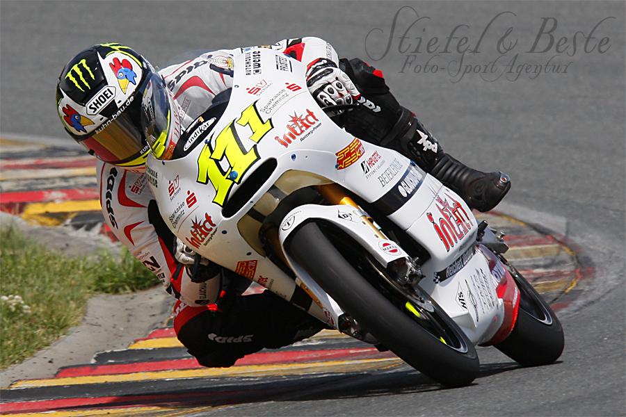 Sandro Cortese als Wildcardpilot bei der IDM Sachsenring