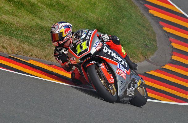 Sandro Cortese - Moto2 Sachsenring 2013