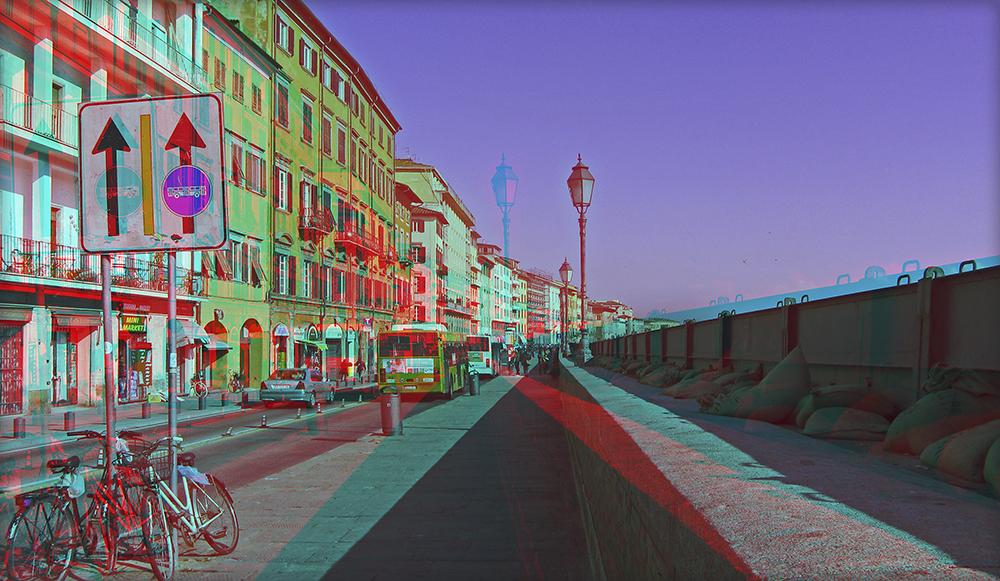 Sandsäcke in Pisa 2 (3D)