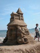Sandskulpturen Festival 2011 Rügen - die Rückseite