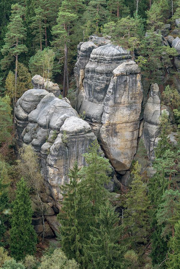 Sandsteine am Oybin