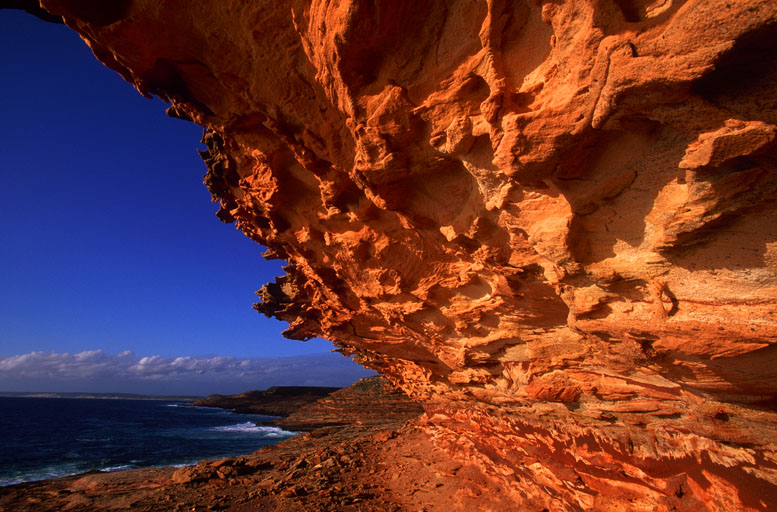 Sandsteinklippen im Kalbarri National Park