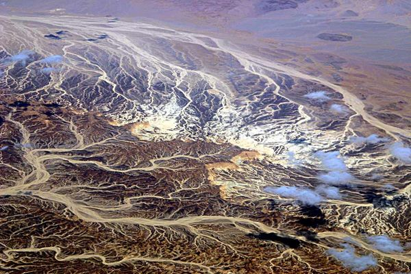 Sandströme am Sinai