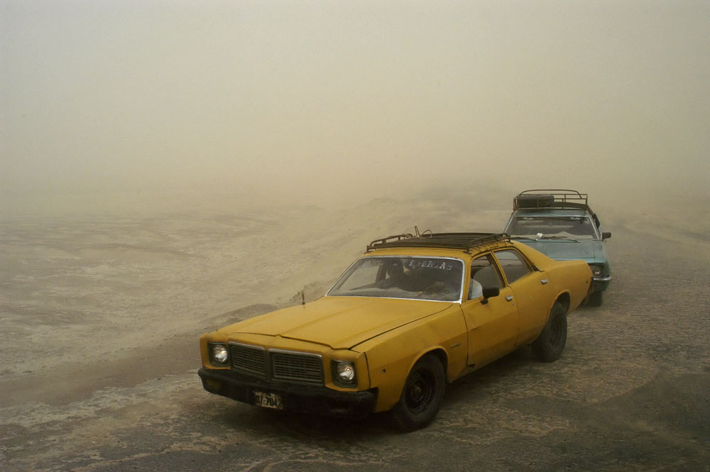 Sandsturm bei Pisaq