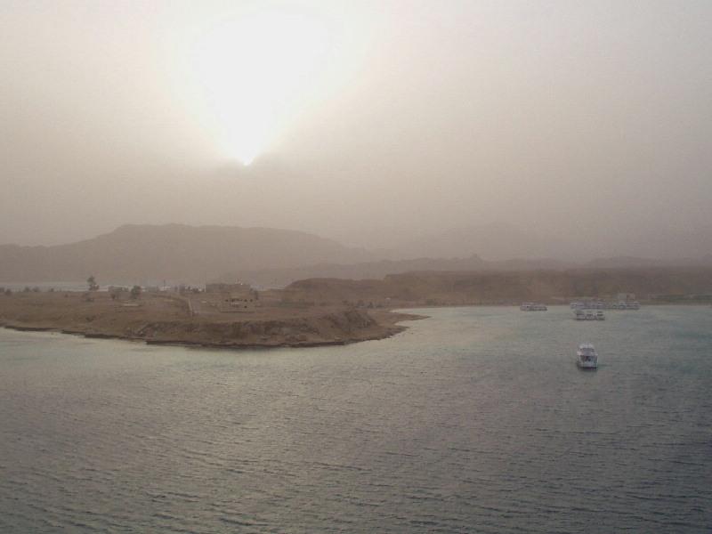 Sandsturm im Sinai 2