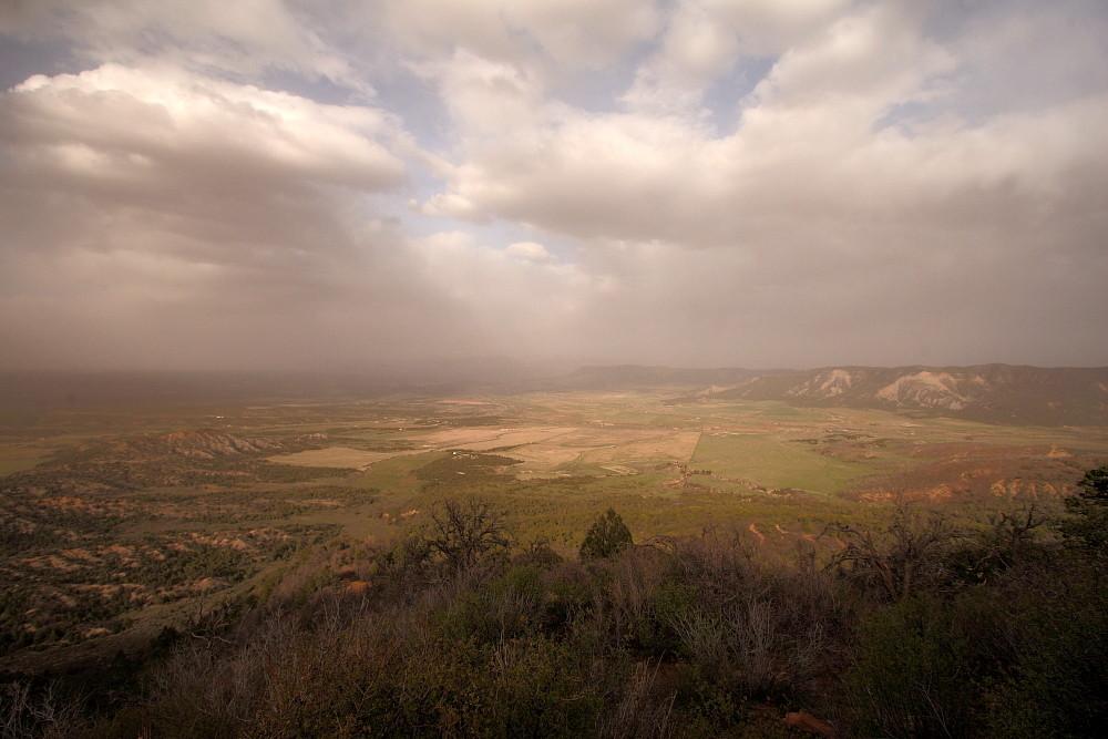Sandsturm über Cortez