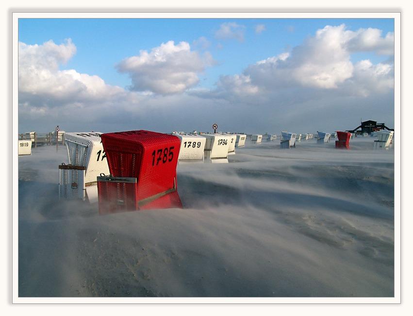 Sandsturm - Windstärke 9...