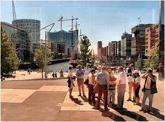 * Sandtorhafen *, postcard from Hamburg.