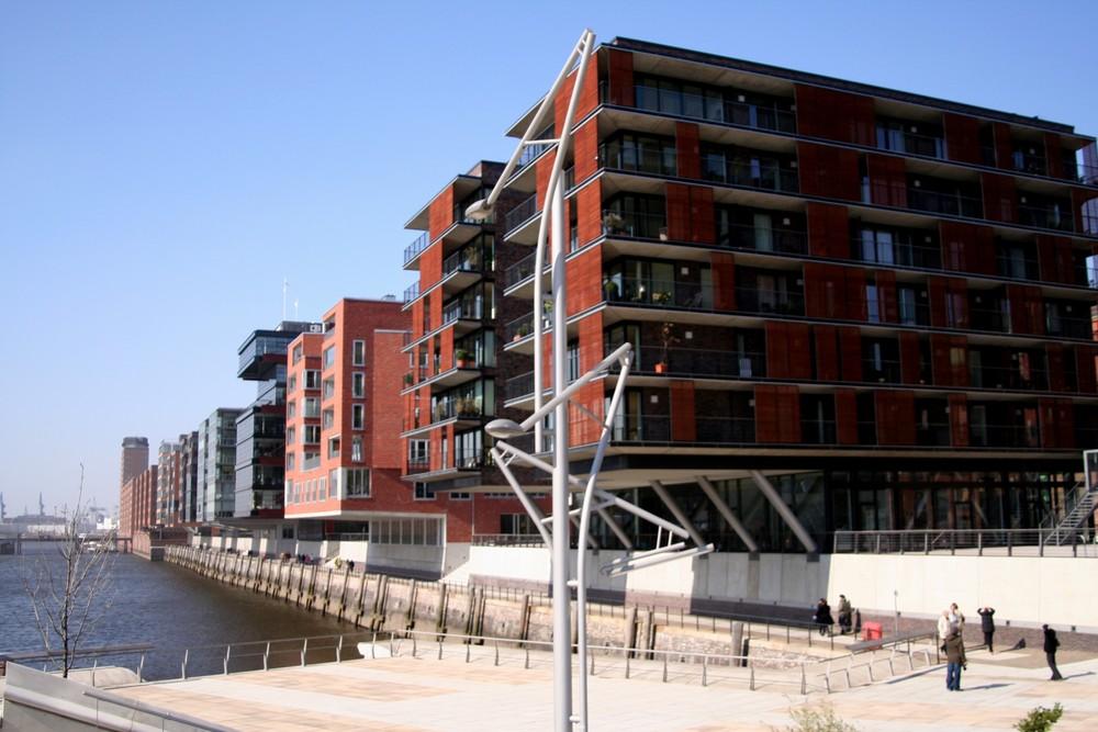 Sandtorkai in der HafenCity Hamburg