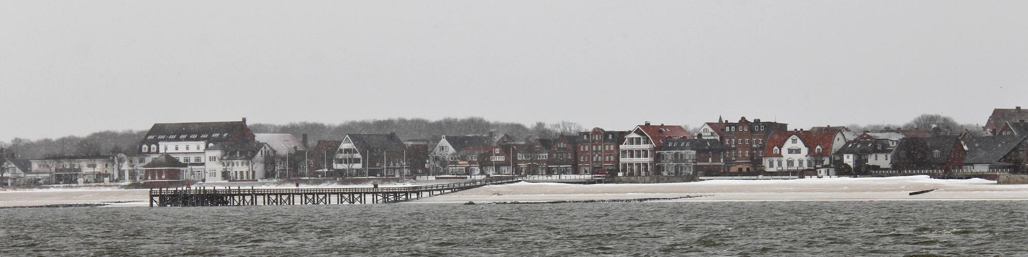 Sandwall im Winter