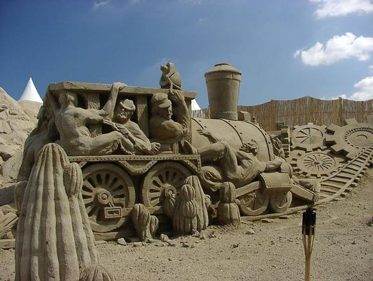 Sandworld 2003 - im wilden Westen
