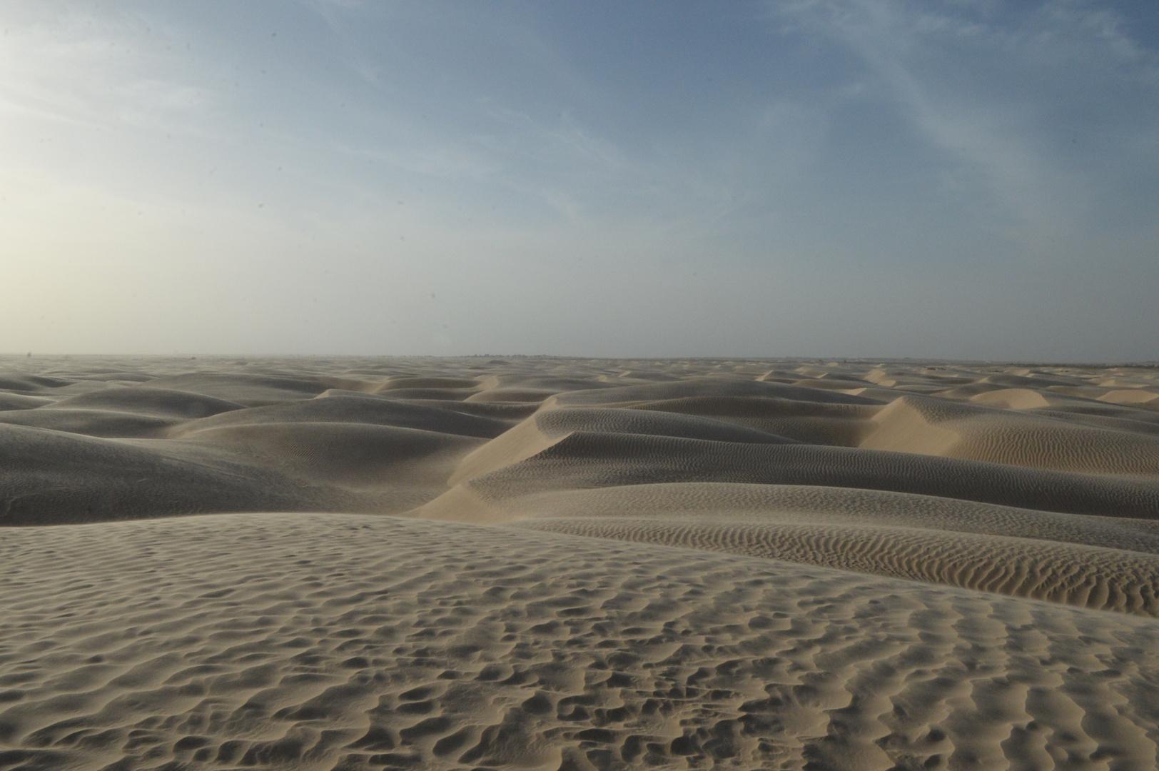 Sandwüste von Tunesien