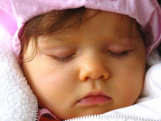 ...sanft eingeschlafen...